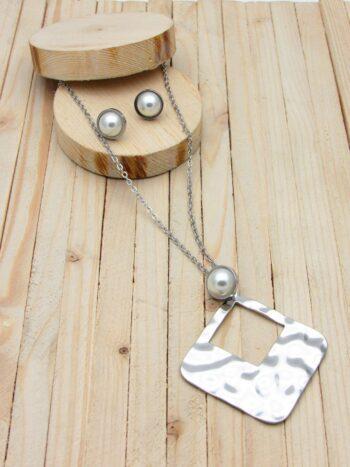 juegos plateado perlas