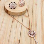 juegos rosado perlas|zircones blanco